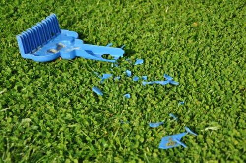 Erreurs lors de la tonte de la pelouse. 5 points à surveiller