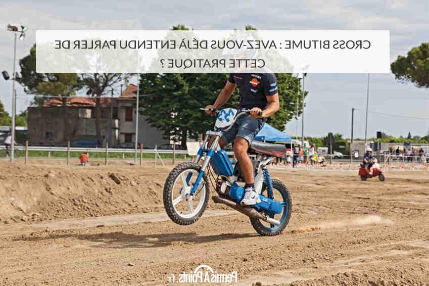 Comment lever une moto cross ?