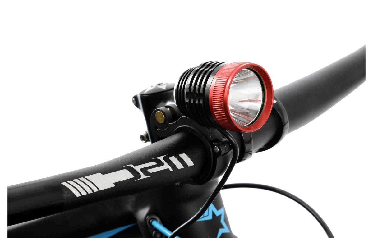 Quelle puissance lampe frontale VTT ?